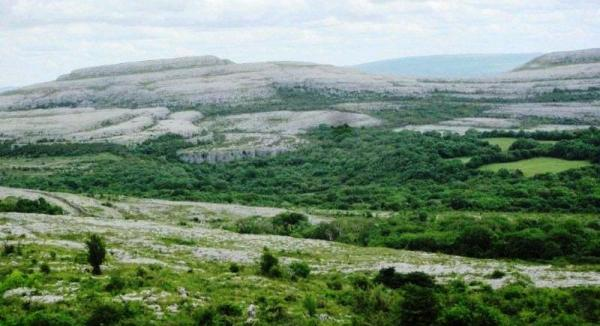 northern Burren in Co. Clare, Ireland