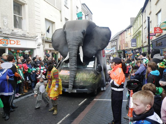 St. Pat's Parade in Ennis, Clare, Ireland